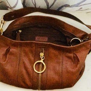 Via Spiga Bags - Small brown leather hobo